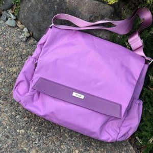 Tumi Lavender Purple Messenger Laptop Bag